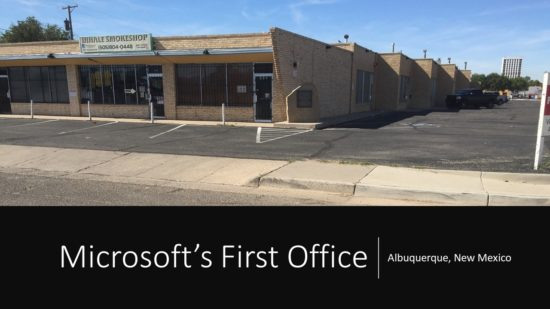 Microsoft's First Office